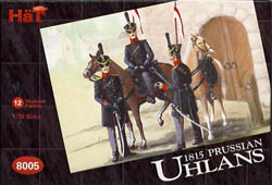 HaT Ind. Figures PRUSSIAN UHLANS 1:72          , LIST PRICE $7.5