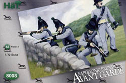 HaT Ind. Figures BRUNSWICK AVANTE GUARDE 1:72  , LIST PRICE $7.5