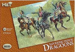 HaT Ind. Figures FRENCH DRAGOONS 1:72, LIST PRICE $7.5