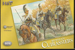 HaT Ind. Figures RUSSIAN CUIRASSIERS 1:72, LIST PRICE $7.5