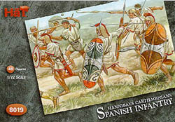 HaT Ind. Figures SPANISH INFANTRY 1:72         , LIST PRICE $7.5