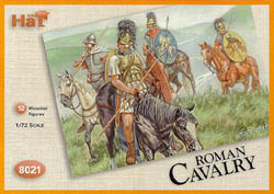 HaT Ind. Figures ROMAN CAVALRY 1:72            , LIST PRICE $7.5