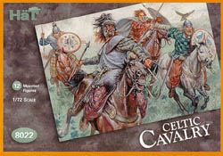 HaT Ind. Figures CELTIC CAVALRY 1:72           , LIST PRICE $7.5
