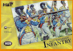 HaT Ind. Figures BAVARIAN INFANTRY 1:72        , LIST PRICE $7.5