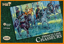 HaT Ind. Figures FRENCH CHASSEURS a CHEVAL 1:72, LIST PRICE $7.5