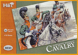 HaT Ind. Figures BAVARIAN CAVALRY 1:72         , LIST PRICE $7.5