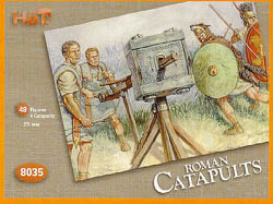 HaT Ind. Figures ROMAN CATAPULTS 1:72          , LIST PRICE $7.5
