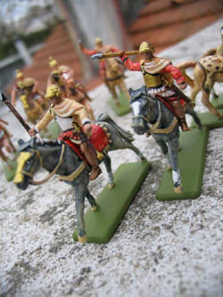 HaT Ind. Figures ALEXANDER'S THESSANIAN CAV :72, LIST PRICE $7.5