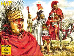 HaT Ind. Figures ROMAN COMMAND 1:72            , LIST PRICE $9.29