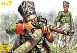 HaT Ind. Figures PRUSSIAN VOLUNTEER JAGER 1:72 , LIST PRICE $7.5