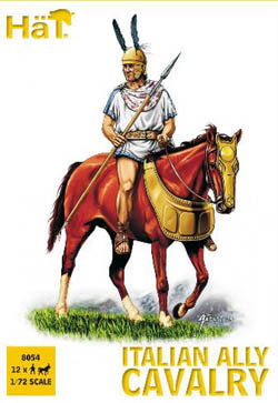 HaT Ind. Figures ITALIAN ALLY CAVALRY 1:72     , LIST PRICE $7.5