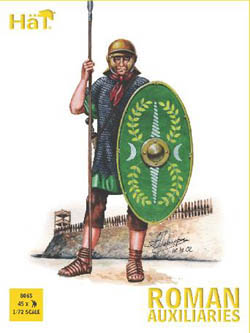 HaT Ind. Figures FLAVIAN ROMAN AUXILIARIES 1:72, LIST PRICE $7.5