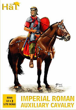 HaT Ind. Figures ROMAN AUXILIARY CAVALRY 1:72  , LIST PRICE $7.5