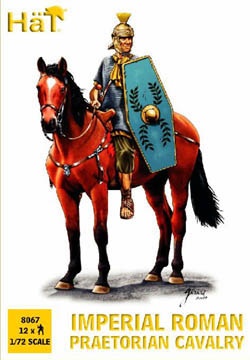 HaT Ind. Figures ROMAN PRAETORIAN CAVALRY 1:72 , LIST PRICE $7.5