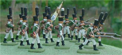 HaT Ind. Figures 1805 RUSSIAN LIGHT INF 1:72   , LIST PRICE $7.5