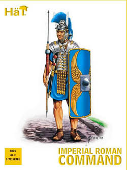 HaT Ind. Figures IMPERIAL ROMAN COMMAND 1:72   , LIST PRICE $9