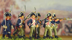 HaT Ind. Figures 1806 PRUSSIAN MUSKETEERS 1:72 , LIST PRICE $7.5