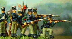 HaT Ind. Figures 1806 PRUSSIAN FUSILIERS 1:72  , LIST PRICE $7.5