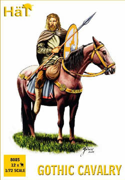 HaT Ind. Figures GOTHIC CAVALRY 1:72           , LIST PRICE $7.5