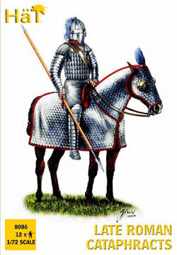 HaT Ind. Figures LATE ROMAN CATAPHRACTS 1:72   , LIST PRICE $7.5