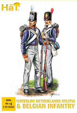HaT Ind. Figures BELGIAN INFANTRY 1:72         , LIST PRICE $7.5