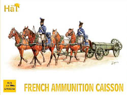 HaT Ind. Figures FRENCH AMMUNITION CAISSON 1:72, LIST PRICE $10.8
