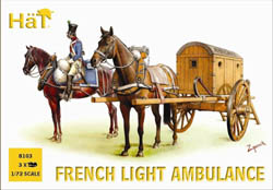 HaT Ind. Figures FRENCH LIGHT AMBULANCE 1:72   , LIST PRICE $10.8