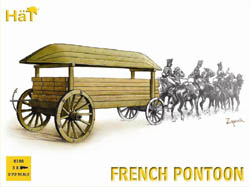 HaT Ind. Figures FRENCH PONTOON 1:72           , LIST PRICE $10.8