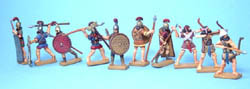 HaT Ind. Figures ASSYRIAN ALLIED/AUXILIARY 1:72, LIST PRICE $11.5