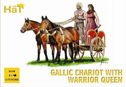 HaT Ind. Figures CELTIC CHARIOT W/Queen 1:72   , LIST PRICE $7.5