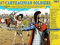 HaT Ind. Figures CARTHAGINIAN ARMY 1:72, LIST PRICE $15