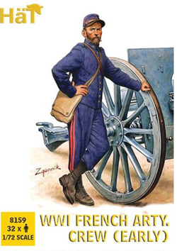 HaT Ind. Figures Ww-1 French Artillery Crew, LIST PRICE $999
