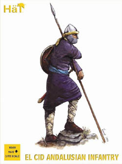 HaT Ind. Figures ANDALUSIAN INFANTRY 1:72 , LIST PRICE $15