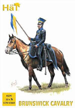 HaT Ind. Figures Brunswick Cavalry 1:72, LIST PRICE $10.8