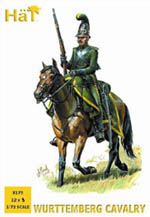 HaT Ind. Figures Wurttemberg Cavalry 1:72, LIST PRICE $10.8