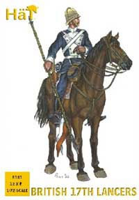 HaT Ind. Figures British 17Th Lancers 1:72, LIST PRICE $10.45