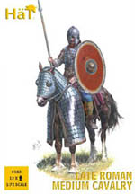 HaT Ind. Figures Late Roman Medium Cavalry 1:72, LIST PRICE $10.45