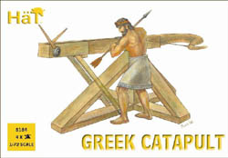 HaT Ind. Figures GREEK CATAPULTS 1:72          , LIST PRICE $7.5