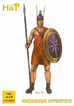 HaT Ind. Figures MACEDONIAN HYPASPISTS 1:72    , LIST PRICE $7.5