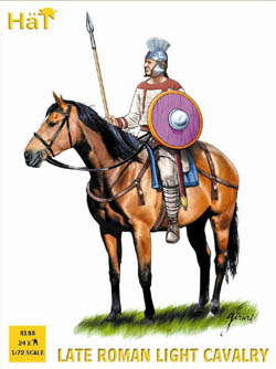 HaT Ind. Figures LATE ROMAN CAVALRY 1:72, LIST PRICE $15
