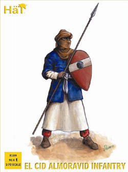 HaT Ind. Figures EL CID ALMORAVID INFANTRY 1:72, LIST PRICE $15