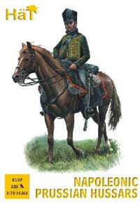 HaT Ind. Figures Prussian Hussars 1:72, LIST PRICE $10.8