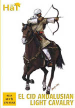HaT Ind. Figures Andalusian Light Cavalry 1:72, LIST PRICE $10.45