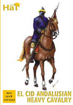 HaT Ind. Figures Andalusian Heavy Cavalry 1:72, LIST PRICE $10.45