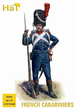 HaT Ind. Figures FRENCH CARABINIERS 1:72 , LIST PRICE $10.8