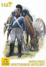 HaT Ind. Figures WURTTEMBERG ARTILLERY 1:72, LIST PRICE $9.29