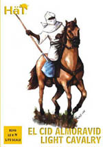 HaT Ind. Figures Almoravid Light Cavalry 1:72, LIST PRICE $10.45