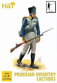 HaT Ind. Figures PRUSSIAN INFANTRY ACTION 1:72 , LIST PRICE $9.29