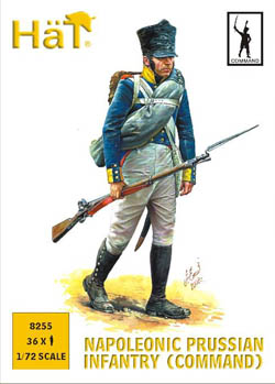 HaT Ind. Figures PRUSSIAN INFANTRY COMMAND 1:72, LIST PRICE $10.8