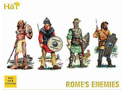 HaT Ind. Figures Rome'S Enemies 1:72, LIST PRICE $15